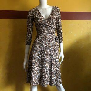 BCBGmaxazria 3/4 sleeve dress (faux wrap)